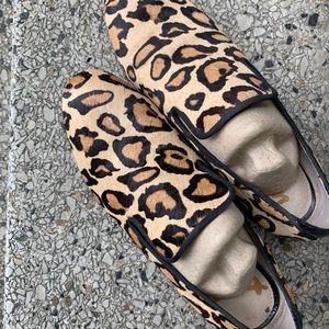 Sam Edelman Shoes - Sam Edelman animal print flats size 7.5